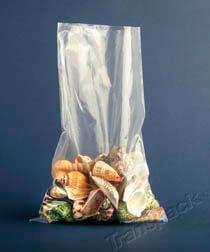 Clear Medium Duty Polythene Bags 200g