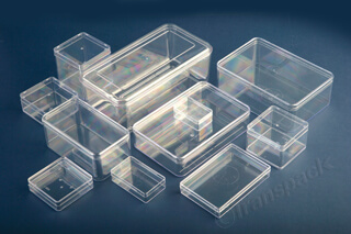 Crystal Clear Presentation Boxes