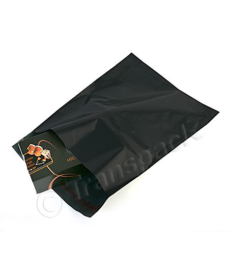 Black Opaque Mailing Bags