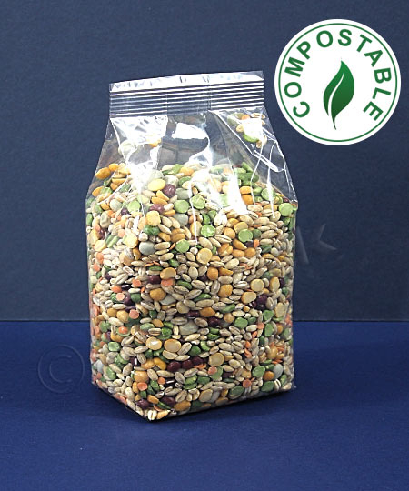 Compostable & Biodegradable Clear Bags