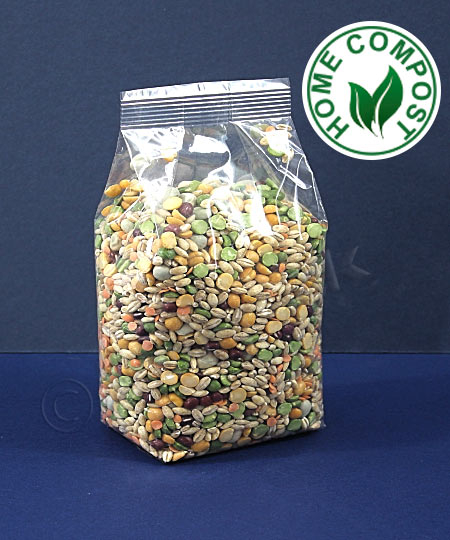 Compostable Gusseted Bags