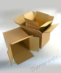 Brown Single and Double Wall Cartons