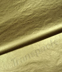 Tissue Paper - Metallic Gold, Silver & Copper