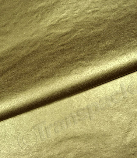 Tissue Paper - Metallic Gold & Silver