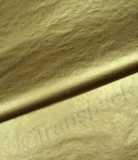 Tissue Paper - Metallic Gold & Silver