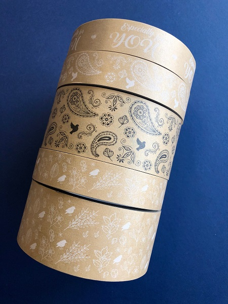 Printed Tapes - inc Eco Friendly Paper Tape designs