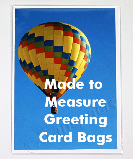 Cellophane Gift Bags, Artwork Bags & Greeting Card Bags