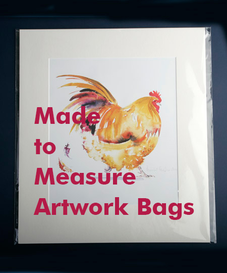 Custom Made Artwork Bags
