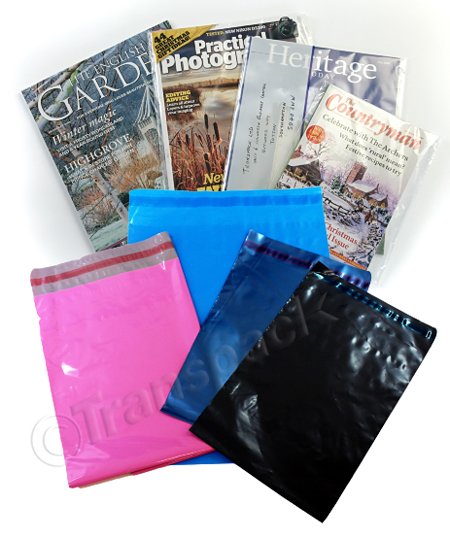 Clear and Opaque Polythene Mailing Bags