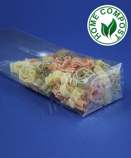 Compostable Block Bottom Bags