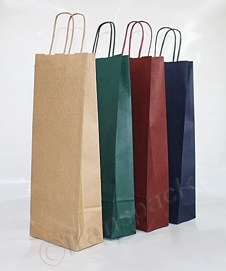 Kraft Bottle Bags