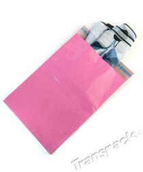 Bright Pink Mailing Bags