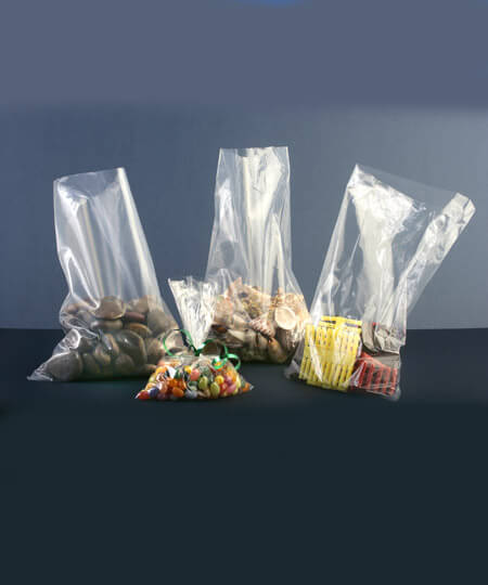 Polythene Clear Plastic Bags