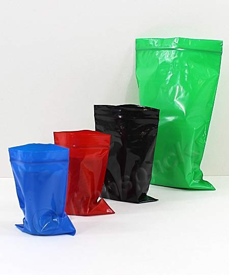 Resealable Coloured Bags