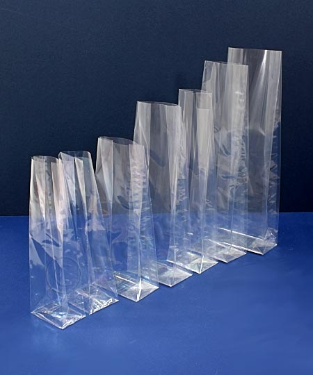 SOS Cellophane Bags With Side Gussets