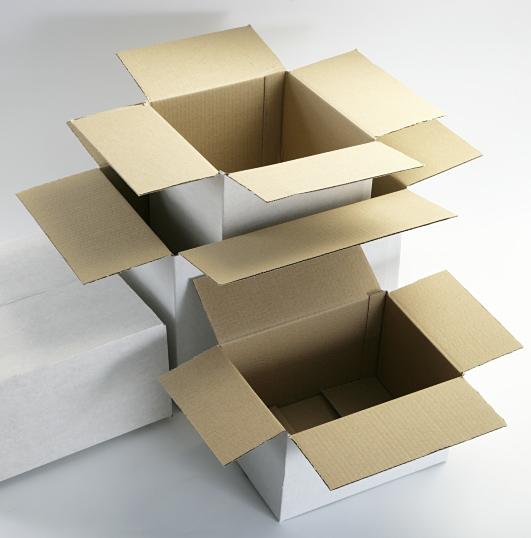 White Cartons - Single & Double Wall