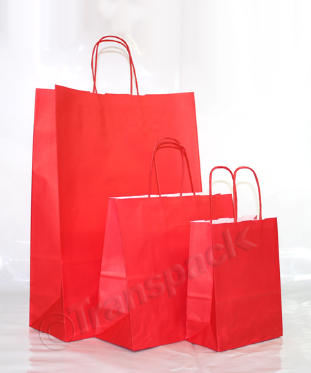 Italian Kraft Paper Carrier Bags