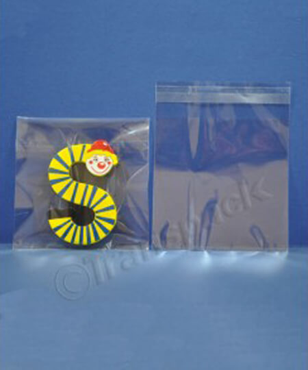 Small Clear Multipurpose Gift Bags