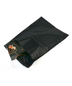 Black Opaque Mail Order Bags 400 x 525mm