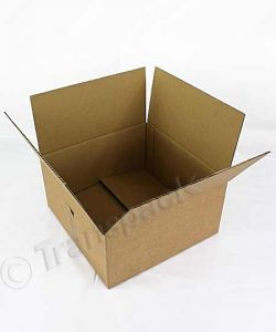 Brown Single Wall Cardboard Carton 305 x 305 x 150mm