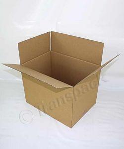 Brown Single Wall Cardboard Carton 356 x 254 x 254mm