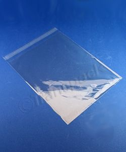 Artwork / Photo Bags Clear artwork bags with s/seal flap 210 x 261mm