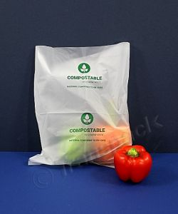 Compostable Packing Bags - 80g -250x300mm