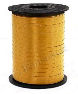 Curling Ribbon Gold 5mm