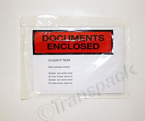 Document Envelopes Printed (A6) 127 x 171