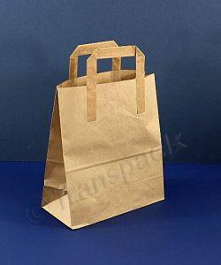 Recycled Kraft Paper Carrier Bag Brown - Medium