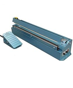 Heat Sealer, cable foot operated, with cutter- 665mm Weld