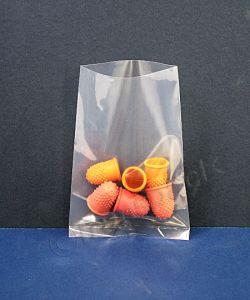 Clear Heavy Duty Polythene Bags 400 g Poly Bags H/D 100 x 150