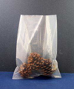 Clear Heavy Duty Polythene Bags 400 g Poly Bags H/D 229 x 305