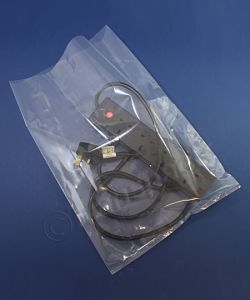 Clear Heavy Duty Polythene Bags 400 g Poly Bags H/D 300 x 450