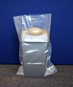Clear Heavy Duty Polythene Bags 400 g Poly Bags H/D 500 x 750