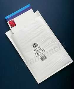 Jiffy Airkraft Bags White Mailers (A4) Size 3 220 x 320mm Box of 50