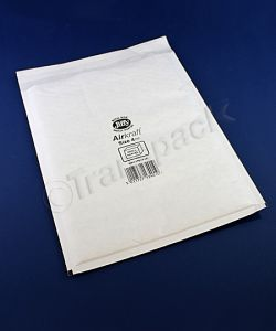 Jiffy Airkraft Bags White Mailers (A4+) Size 4 230 x 320mm Box of 50