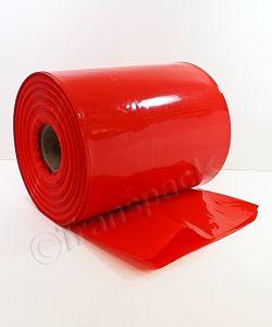 Coloured Heavy Duty Layflat Tubing Red Layflat Tubing H/duty 12in 305mm