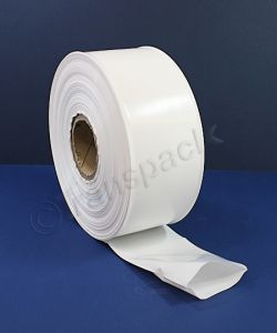 Coloured Heavy Duty Layflat Tubing White Layflat Tubing H/duty 4in 100mm