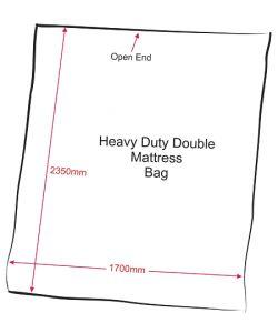 Double Mattress Bag Heavy Duty