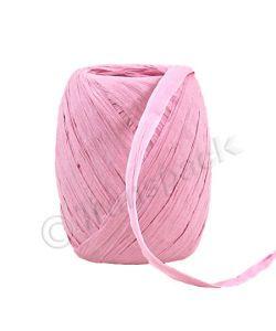Paper Raffia Ribbon 8mm x 30m Light Pink
