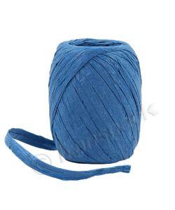 Paper Raffia Ribbon 8mm x 30m Royal Blue