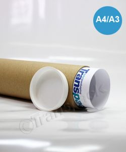Postal Tubes 50 x 330mm (A4/A3)
