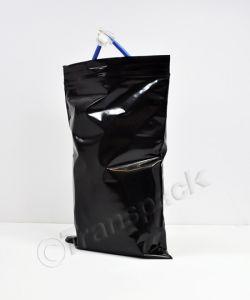 Resealable Coloured Bags Seal-Again Coloured Bags 6 x 9 Black