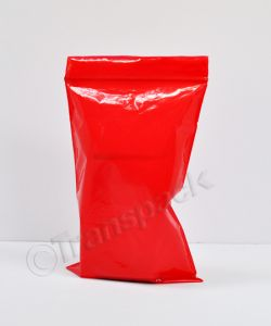 Resealable Coloured Bags Seal-Again Coloured Bags 6 x 9 Red