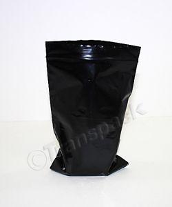 Resealable Coloured Bags Seal-Again Coloured Bags 5 x 7.5 Black