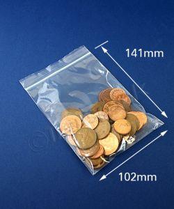Plain Seal Again Bags Seal Again Bags 4 x 5.5 ins