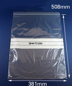 Seal Again Bag write-on 15x20