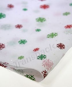 Christmas Tissue Paper - Just Snowflakes