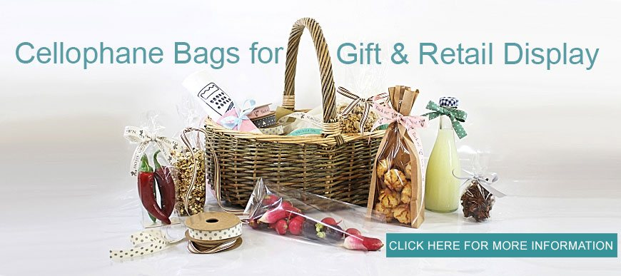 Cellophane bags for gift & display